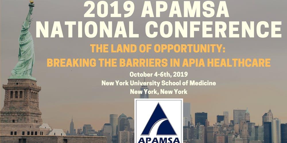 APAMSA 2019 National Conference Tickets, Fri, Oct 4, 2019 at