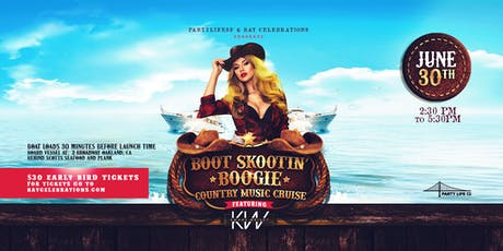 BOOT SKOOTIN' BOOGIE COUNTRY MUSIC CRUISE tickets
