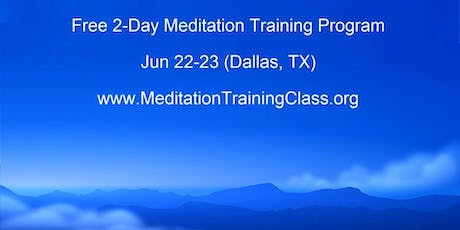 Free 2 Day Training in Pranahuti Supported Meditation tickets