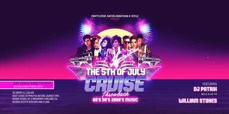 5th OF JULY THROWBACK 80's VS. 90's BOAT CRUISE tickets