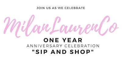 Milan Lauren Cosmetics One Year Anniversary Celebration