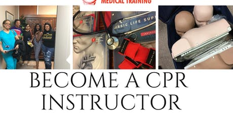1 Day CPR instructor course tickets