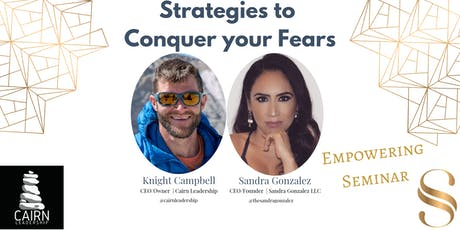 Strategies to Conquer your Fears tickets