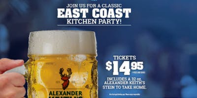 East Coast Kitchen Party at Fionn\