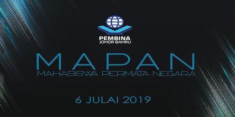 MAPAN 2019 (MAHASISWA PERMATA NEGARA) tickets
