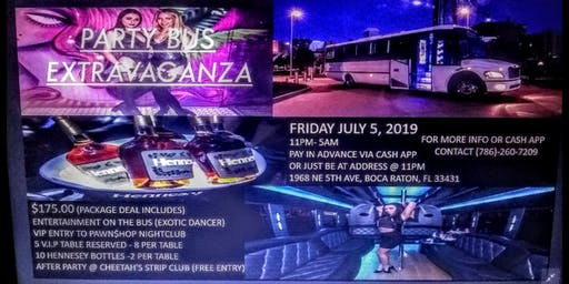 YGGGLENT PRESENTS PARTY BUS EXTRAVAGANZA
