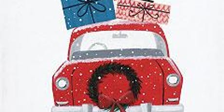 Merry Christmas Car tickets
