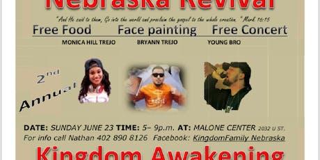Nebraska Revival Kingdom Awakening tickets