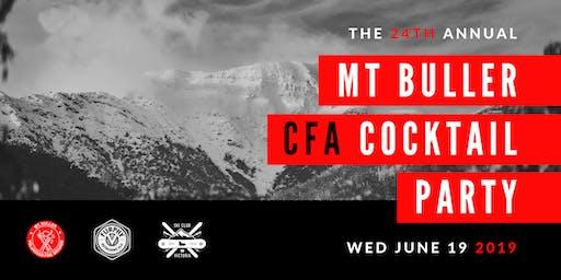 2019 Mt Buller CFA Cocktail Fundraiser