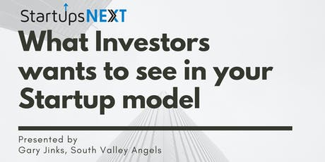What investors want to see in your Startup tickets