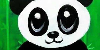 (ALGONQUIN) Panda Family Paint It! Class-7/13/19 12-1pm