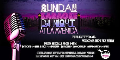 Sunday Karaoke DJ Night tickets