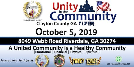 Unity in the Community 2019 tickets