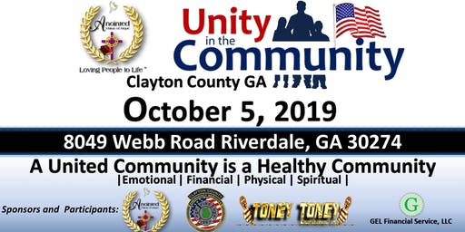 Unity in the Community 2019