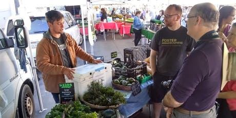 COOKING WITH DAD. A FARMERS MARKET TOUR+SOCIAL COOKING  tickets