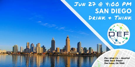 DEF San Diego Drink & Think tickets