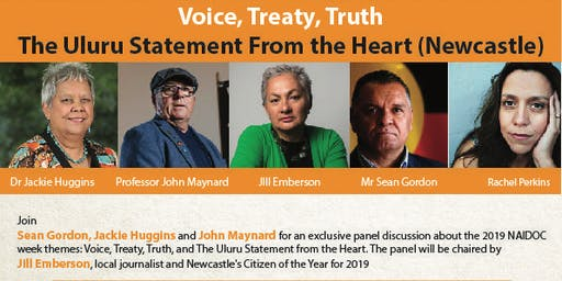 Voice, Treaty, Truth: The Uluru Statement From the Heart (Newcastle)