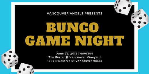 Vancouver Angels Presents Bunco Game Night