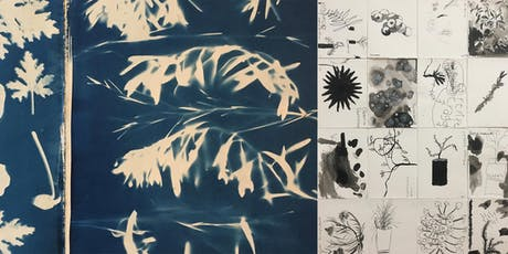 Cyanotypes & mark marking inspired by nature  tickets