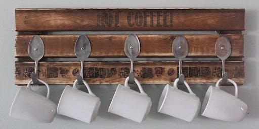 Woodworking with Metal: Mug Rack