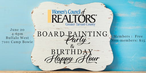 Painting Party & Happy Hour