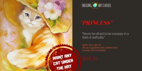 PRINCESS- sip and paint workshop tickets