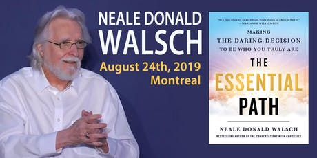 One-Day Seminar with NEALE DONALD WALSCH in Montreal tickets