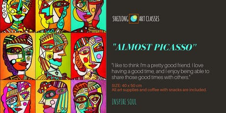 ALMOST PICASSO- coffee and paint workshop tickets