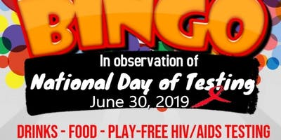Bingo In Observation Of National Day Of Testing