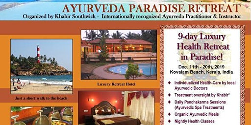 9-day Ayurveda Royal Health Retreat in South India with Khabir Southwick