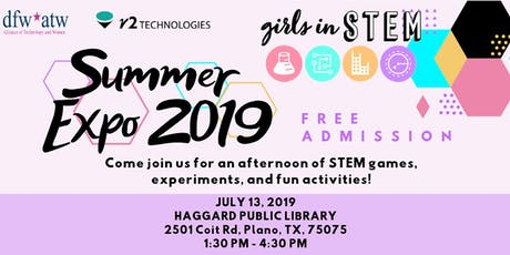 Girls in STEM Summer Expo 2019 tickets