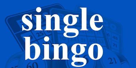 SINGLE BINGO SUNDAY, SEPTEMBER 29, 2019  **SPECIAL** tickets
