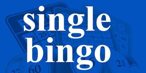 SINGLE BINGO FRIDAY, OCTOBER 4, 2019