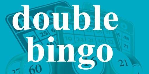 DOUBLE BINGO SUNDAY OCTOBER 6, 2019