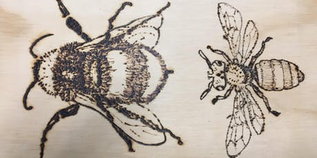 Introduction to Pyrography - Wood Burning tickets