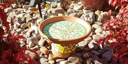 Get Started with Mosaics - Make a Bird Bath