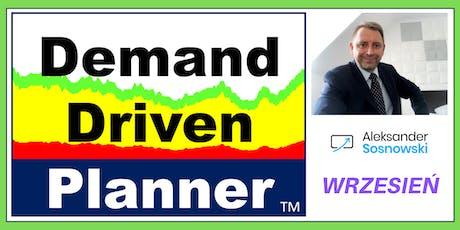Wrzesień DDMRP - 2-dniowe szkolenie logistyczne - Demand Driven Planner tickets