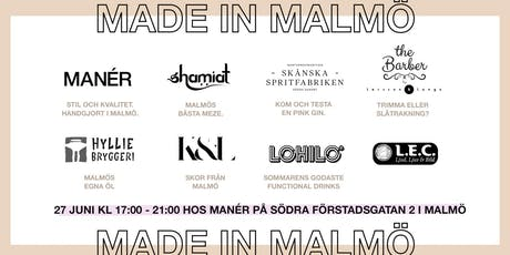 MADE IN MALMÖ tickets