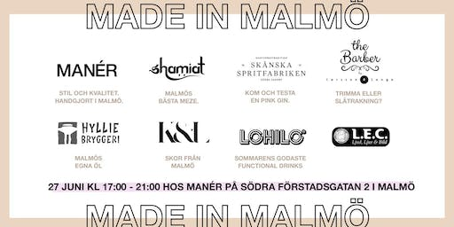 MADE IN MALMÖ