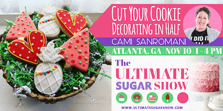 Cut Your Cookie Decorating Time in Half with Cami SanRomani tickets