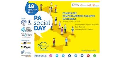 PA SOCIAL DAY TARANTO