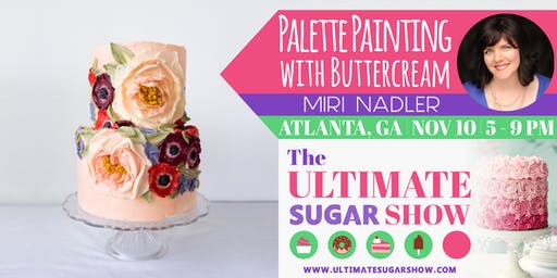 Buttercream Palette Knife Painting with Miri Nadler