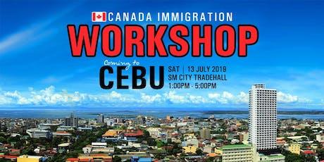 Canada Immigration Workshop - CEBU CITY tickets