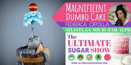 Magnificent Dumbo Cake with Federica Cipolla tickets
