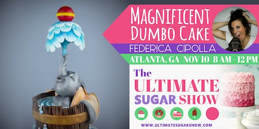 Magnificent Dumbo Cake with Federica Cipolla