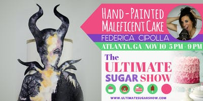 Hand-Painted Maleficent Cake with Federica Cipolla