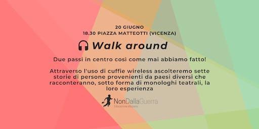 Passaggi, Walk around - Giornata Mondiale del Rifugiato 2019