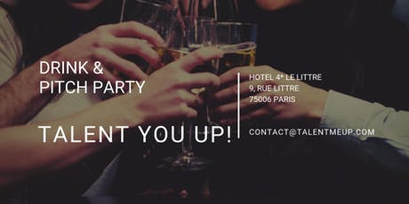 Drink & Pitch Party billets