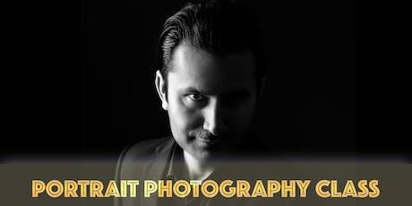 PORTRAIT PHOTOGRAPHY CLASS tickets