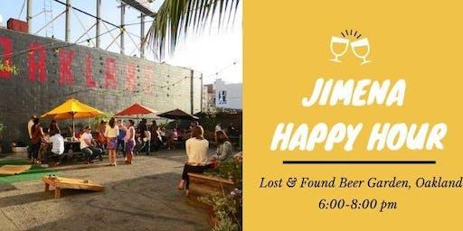 JIMENA Happy Hour at Lost & Found Beer Garden Oakland